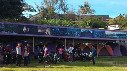 honda bikers camp bali